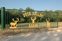 Buck Valley Ranch Front Gate