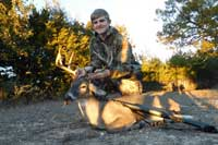 Whitetail buck scoring 127