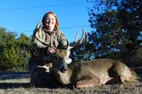Whitetail buck scoring 143