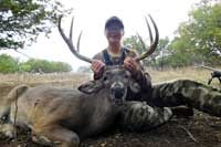 Whitetail buck scoring 137